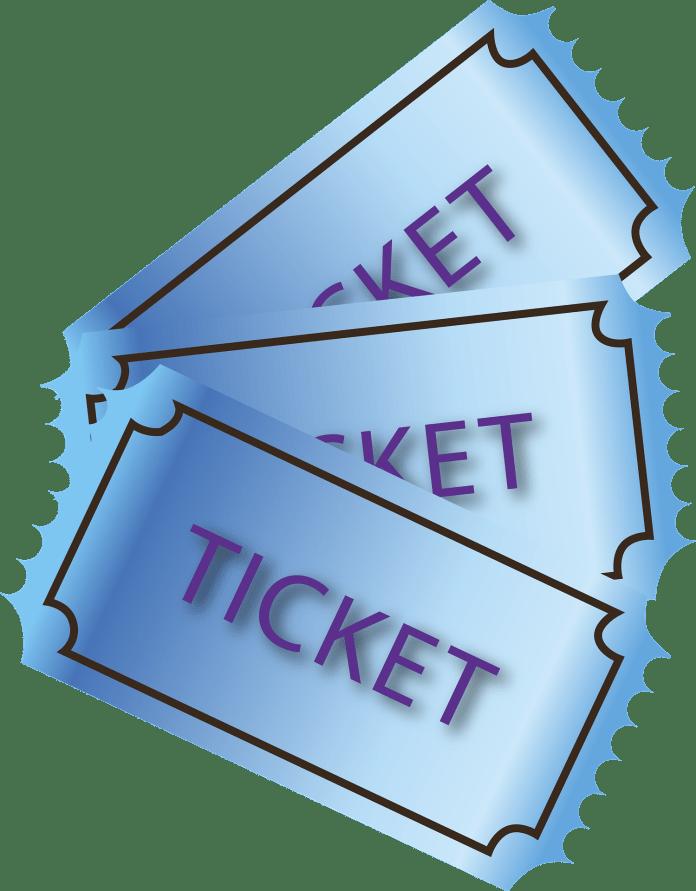 Tickets Ticket Papier Box Office Bioscoop Theater
