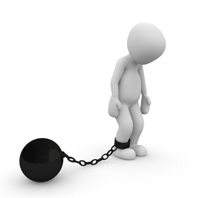 Gevangene Gevangen Gevangenis Keten straf