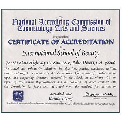 The International School Of Beauty Inc Located In Palm Desert