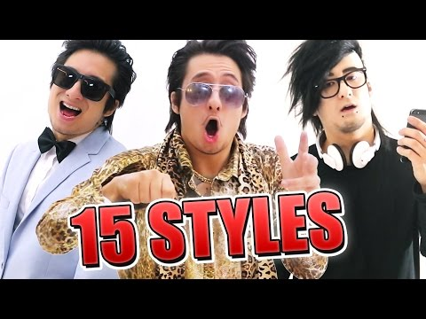 The Pen Pineapple Apple Pen song in 15 styles!