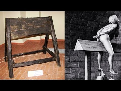 Brutally Shocking Medieval Torture Techniques That will Make you Puke