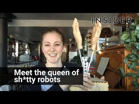 Woman Creates Robots, But They're All Crappy