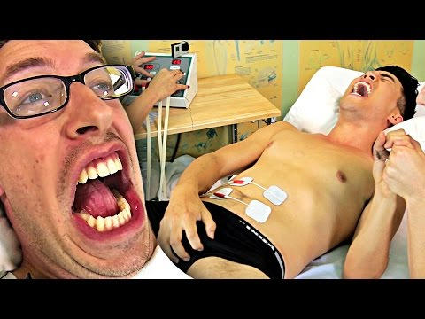Guys Try Labor Pain Simulation To Honor Motherhood