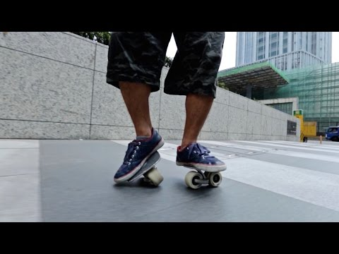 Freeline Skates are Strangely Awesome - Behind the Scenes