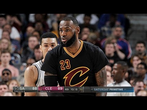 San Antonio Spurs vs Cleveland Cavaliers - Full Game Highlights | Jan 21, 2017 | 2016-17 NBA Season