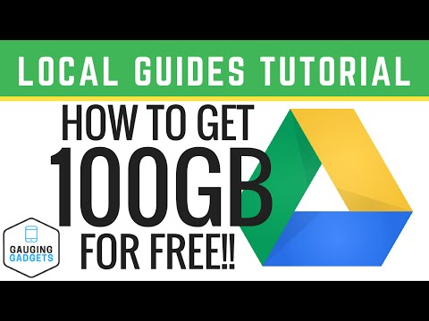 How To Get 100 GB of FREE Google Drive Storage - Local Guides Tutorial
