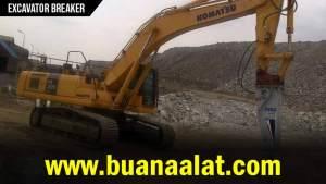 Sewa Rental Excavator Breaker Murah