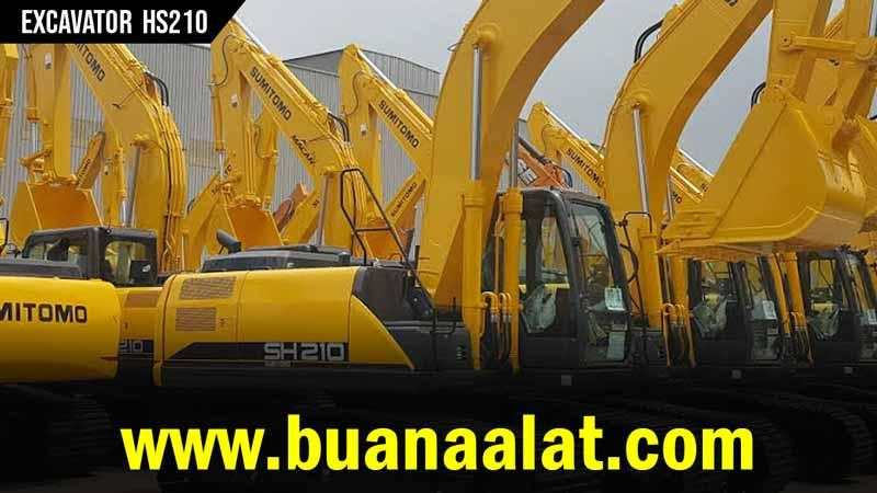 Jual Excavator Sumitomo HS210