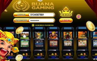 Halaman Login ACE333 White Label Buana Gaming