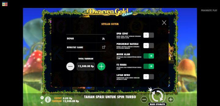 Setelan Sistem Dwarven Gold Deluxe Buana Gaming