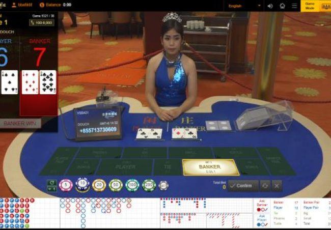 Contoh Permainan Venus Baccarat White Label