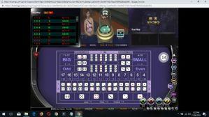 Tampilan Meja Sic Bo BBIN Live Casino White Label