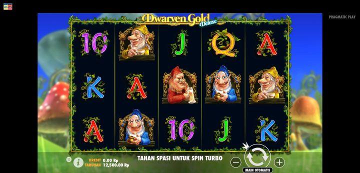 Halaman Utama Dwarven Gold Deluxe Buana Gaming