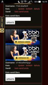 Download Aplikasi Mobile Casino Online BBIN