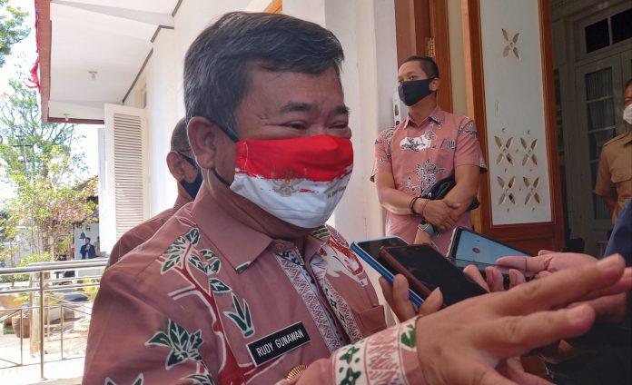 Ini Tindakan Yang Akan Dilakukan Satpol PP Garut Dalam Aturan Wajib Menggunakan Masker