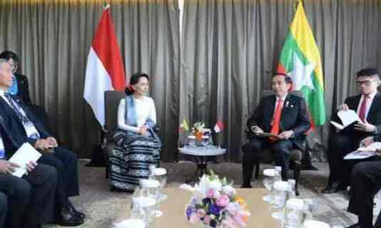 Pemerintah Indonesia Dorong Upaya Perdamaian di Rakhine State