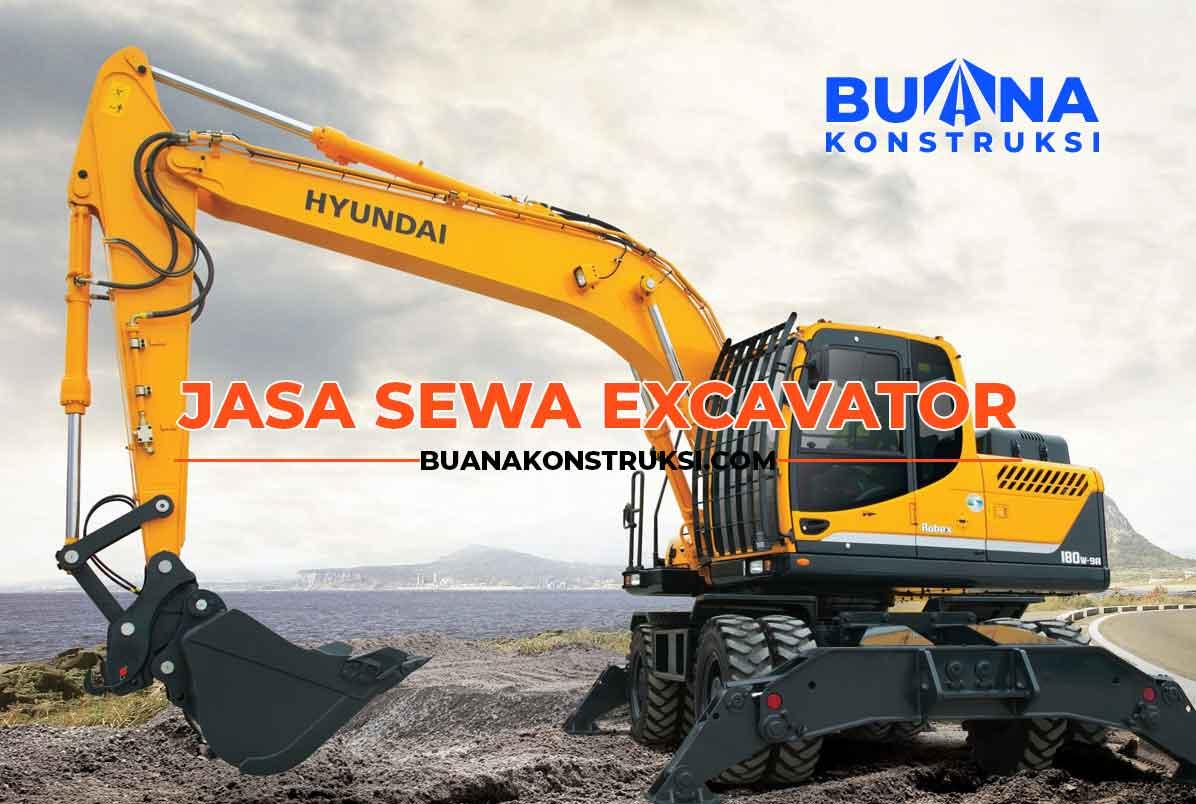 Harga Rental Excavator