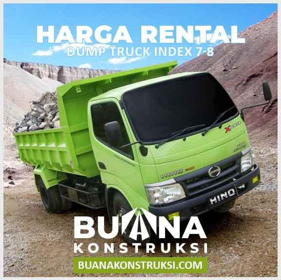 Harga Sewa Dump Truck index 7-8