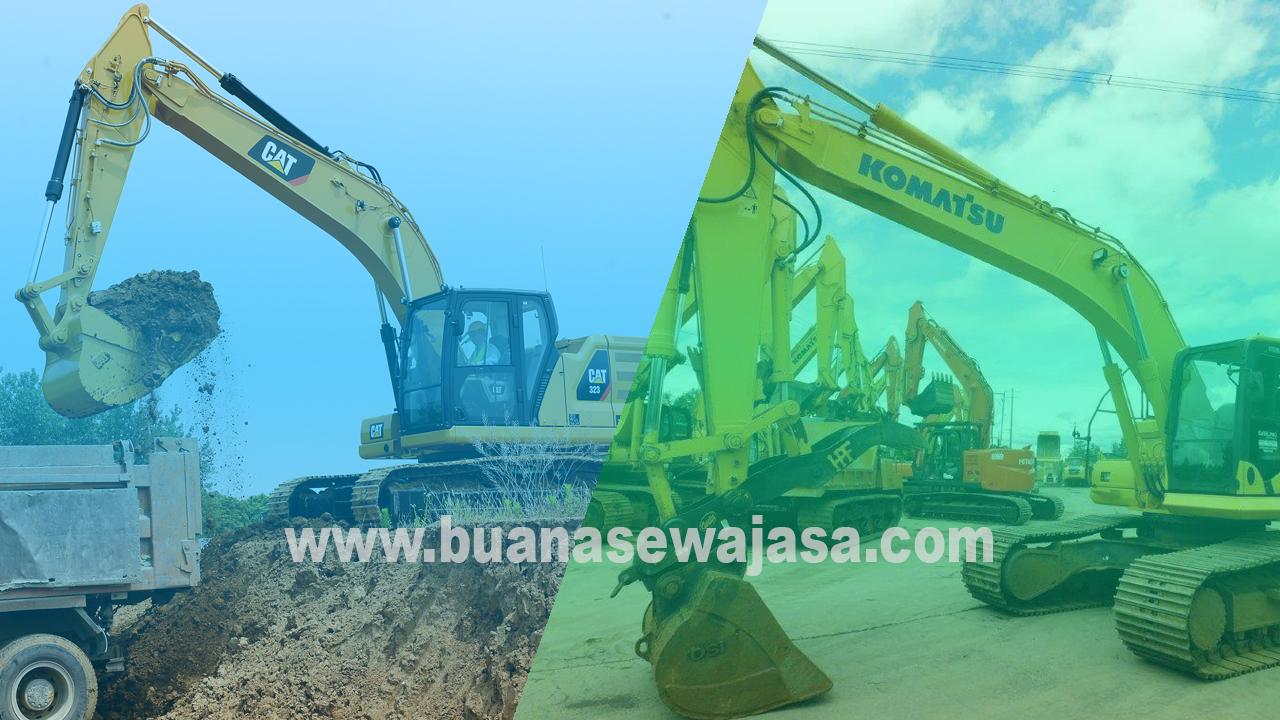 Harga Sewa Rental Excavator Murah Per Jam April 2020