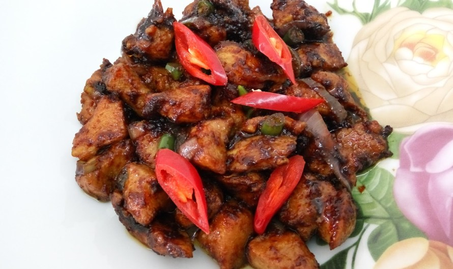Ayam Masak Kicap Kering
