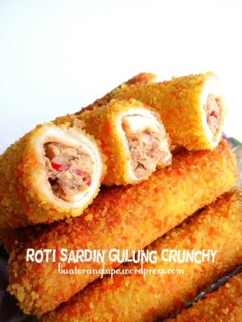 roti sardin gulung crunchy