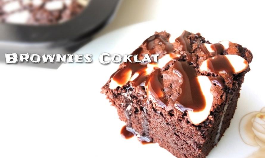 Brownies Coklat Mudah