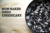 non baked oreo cheesecake