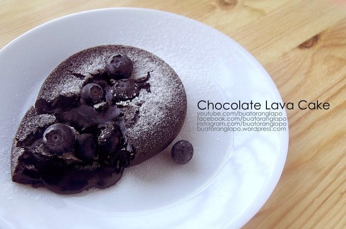 kek coklat lava