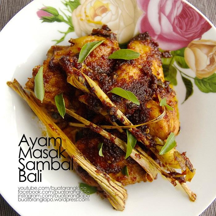 ayam masak sambal bali