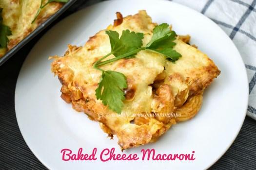 makaroni cheese bakar