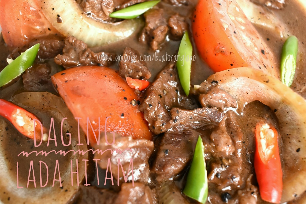 Daging Masak Lada Hitam (Black Pepper)