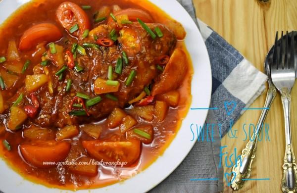 Ikan Talapia Sweet Sour