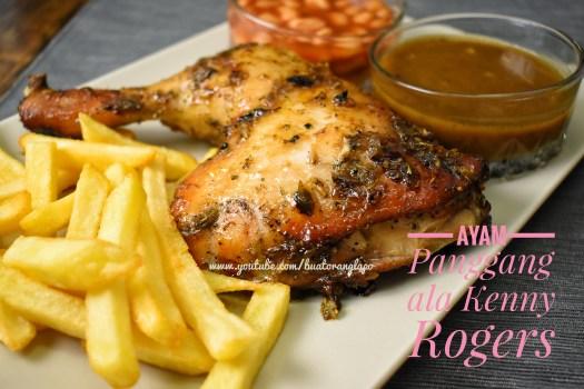 Ayam Panggang ala Kenny Rogers