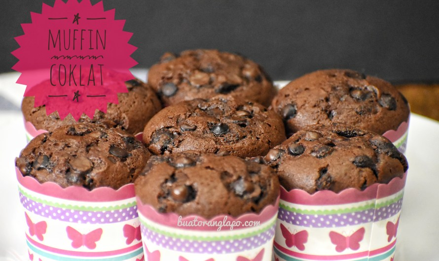 Muffin Coklat Yang Sangat Mudah (Super Easy Chocolate Muffin)