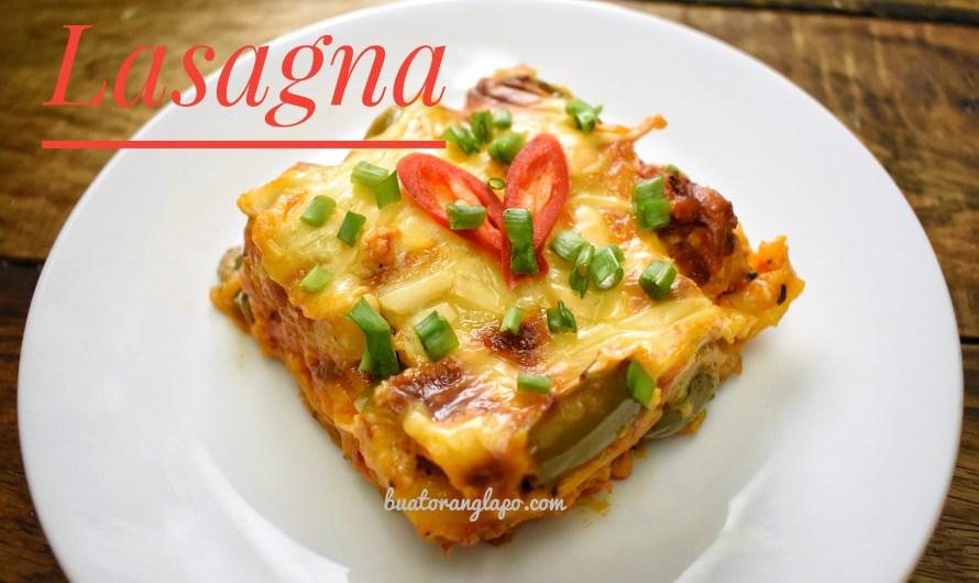 Lasagna Sedap dan Mudah