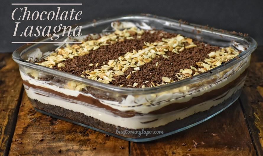 Chocolate Lasagna yang sangat sedap