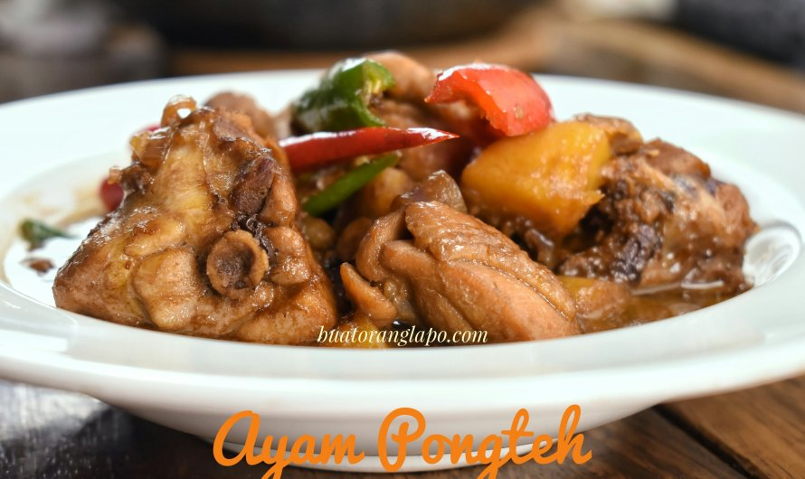 Ayam Pongteh Masakan Baba Nyonya