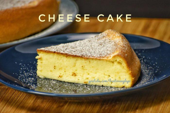 cheesecake menggunakan rice cooker