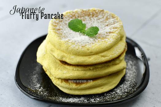 Japanese fluffy pancake
