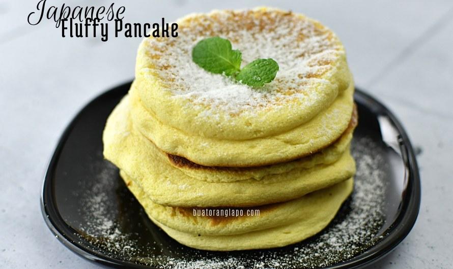 Japanese Fluffy Pancake Yang Sedap dan Lembut