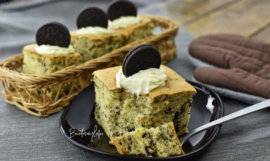 Kek Span Oreo Lembut dan Tips Membuat Meringue