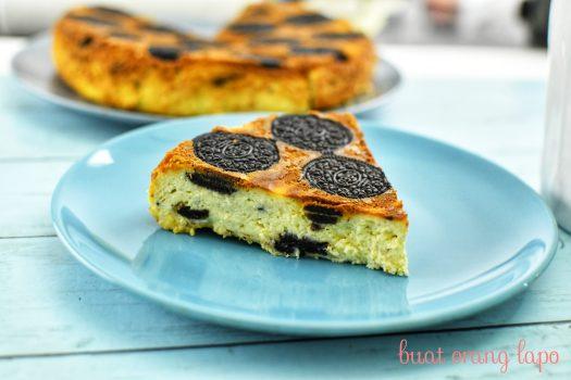 upside down oreo cheesecake