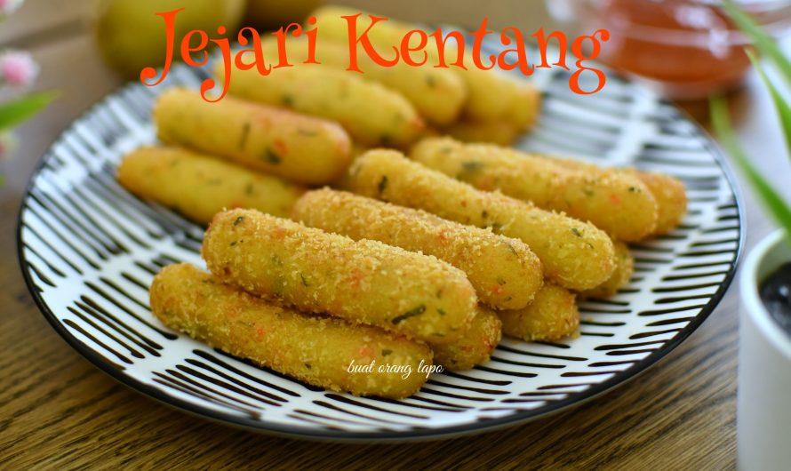 Jejari Kentang Cheese Resepi Viral