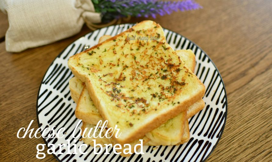 Cheese Butter Garlic Bread Pasti Terangkat