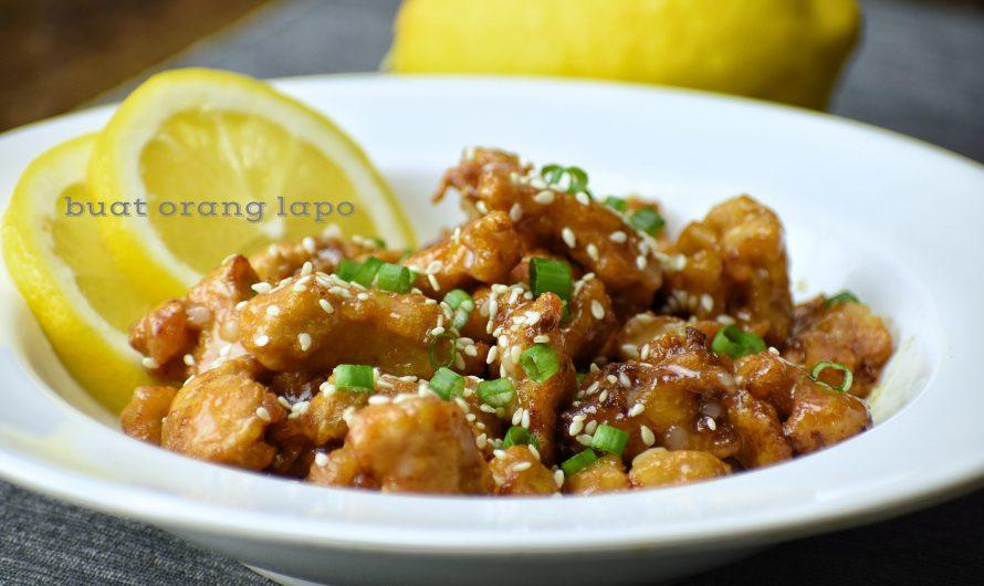 Ayam Masak Lemon Marvellous