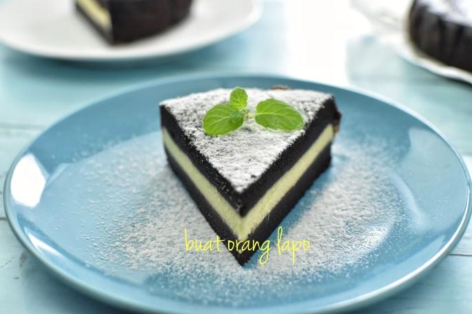 kek coklat cheese kukus
