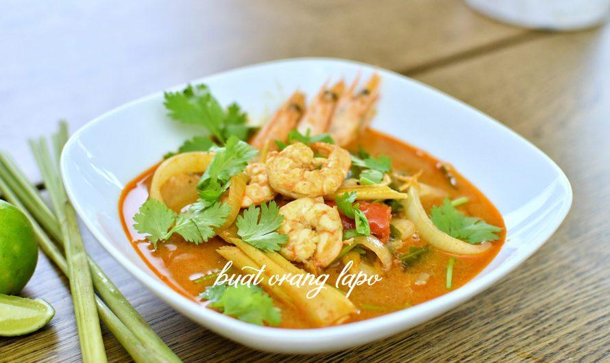 Tom Yum Goong Yang Padu Macam Dekat Kedai Thai