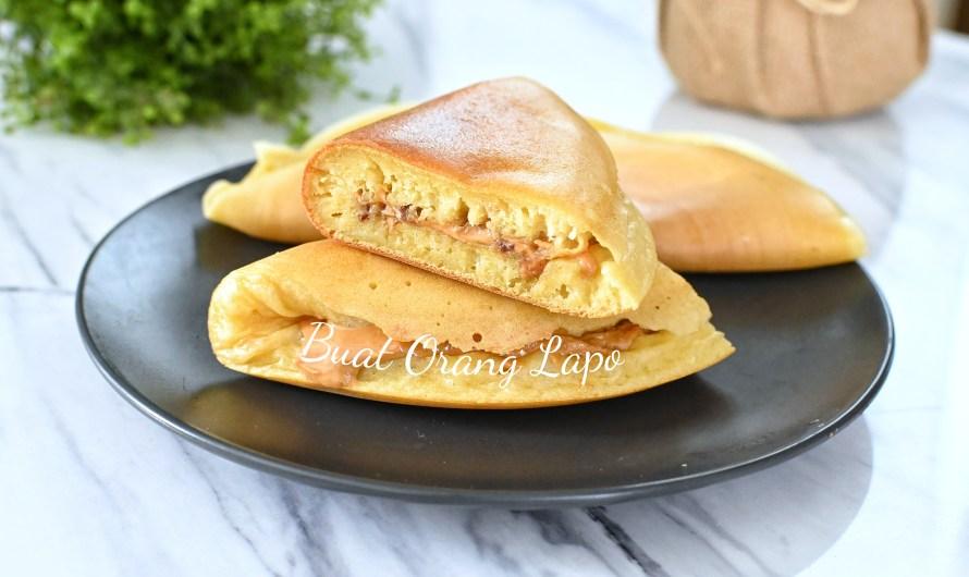 Apam Balik Peanut Butter Mudah, Senang, Pasti Sedap