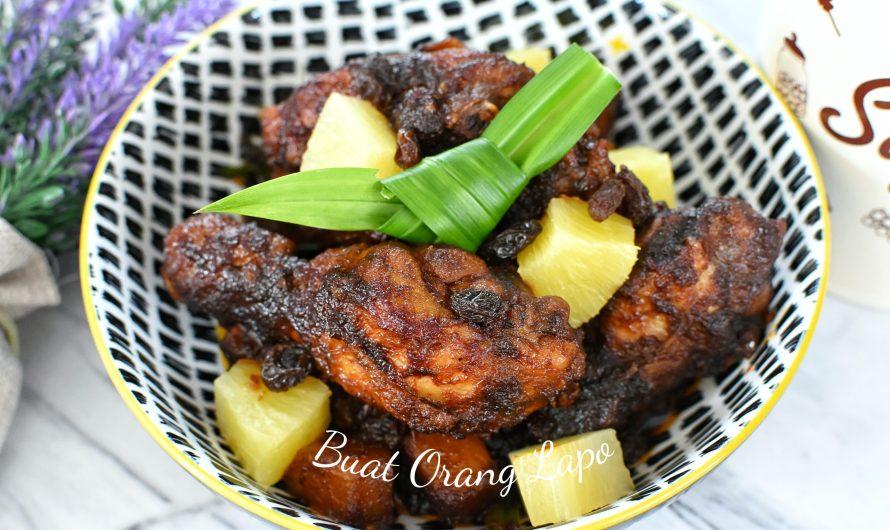 Ayam Sos Hitam ManisSedap Resepi Chef Wan