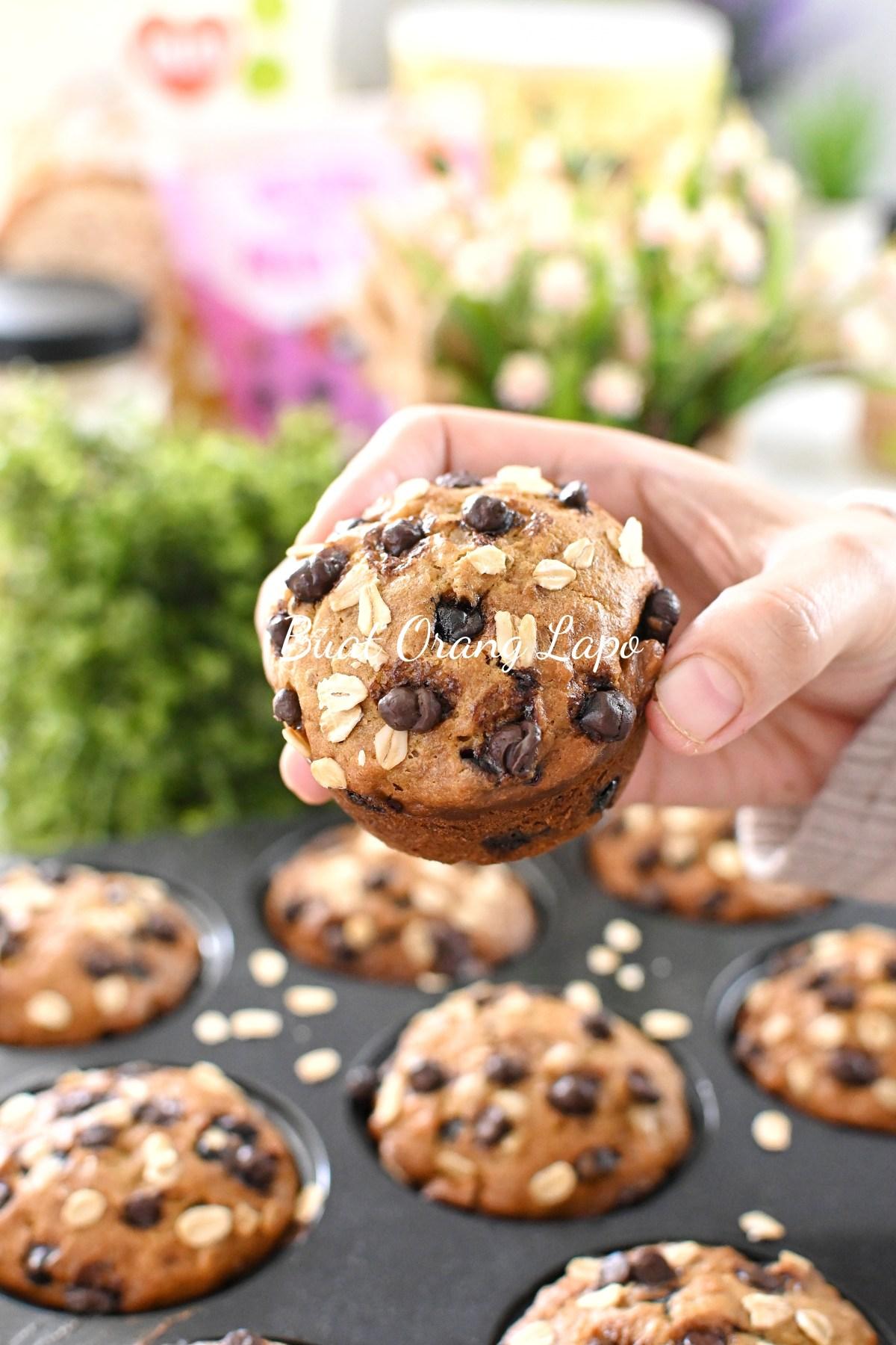 Muffin Pisang Oat
